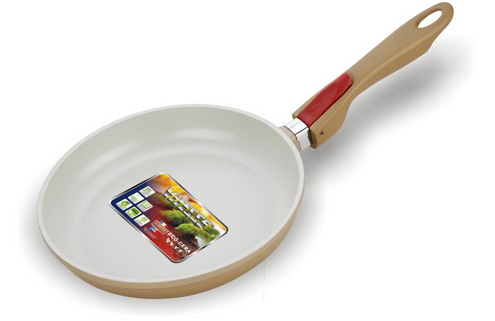 Сковорода VitesseСковороды<br>Тип: сковорода,<br>Материал: алюминий,<br>Диаметр: 240,<br>Толщина стенок: 2,<br>Покрытие чаши: керамическое,<br>Вес нетто: 0.7<br>