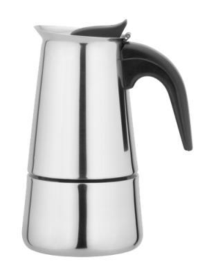 Кофеварка IritКофеварки<br>Тип: гейзерная,<br>Тип используемого кофе: молотый,<br>Объем резервуара для воды: 0.2,<br>Материал корпуса: сталь<br>