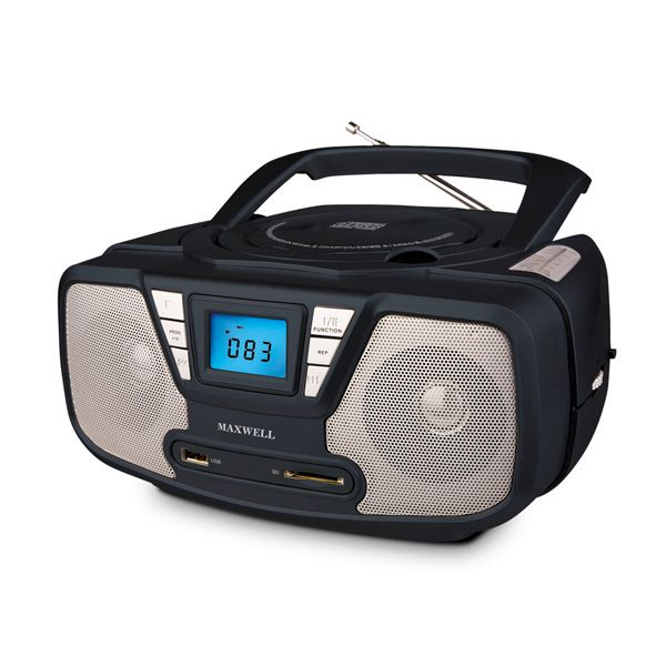 ��������� maxwell mw-4002(bk) cd/mp3
