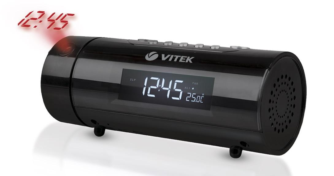 Часы-радио Vitek Vt-3527(bk)