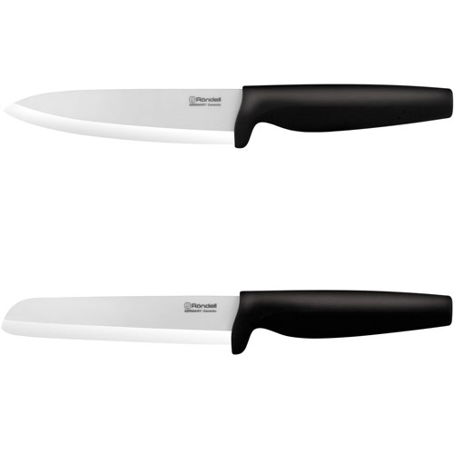 Набор ножей RondellНожи, мусаты, ножеточки<br>Тип: набор ножей,<br>Материал: циркониевая керамика,<br>Набор: есть<br>