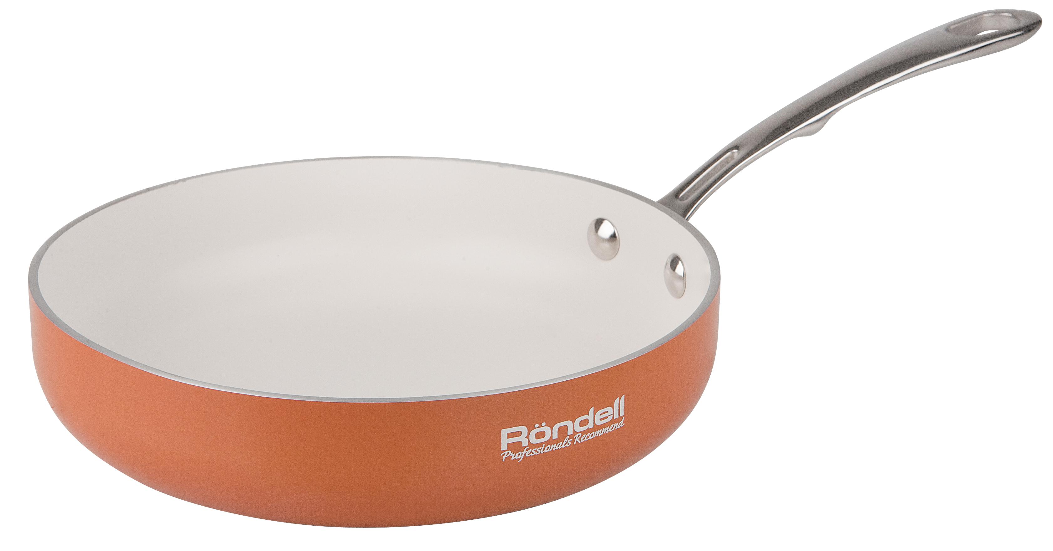 Сковорода RondellСковороды<br>Тип: сковорода,<br>Материал: алюминий,<br>Диаметр: 240,<br>Покрытие чаши: антипригарное<br>