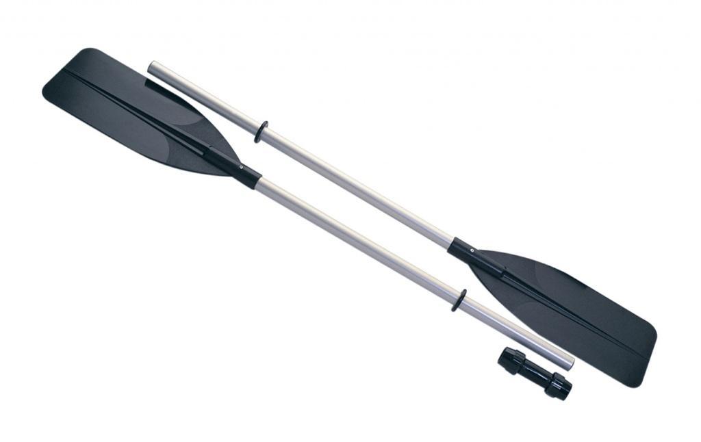 Весла JilongВёсла<br>Тип: весла,<br>Назначение: для байдарки,<br>Материал древка: алюминий,<br>Материал лопасти: пластик,<br>Длина (м): 1.37,<br>Разборное: есть,<br>Вес (г): 1750<br>