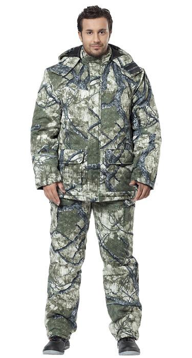 Костюм АВАНГАРД-СПЕЦОДЕЖДАКостюмы<br>Размер: 88-92/170-176,<br>Пол: мужской,<br>Сезон: зима,<br>Материал: смесовая ткань,<br>Плотность ткани: 210,<br>Цвет костюма: КМФ лес,<br>Вид утеплителя:   Шелтер  <br>