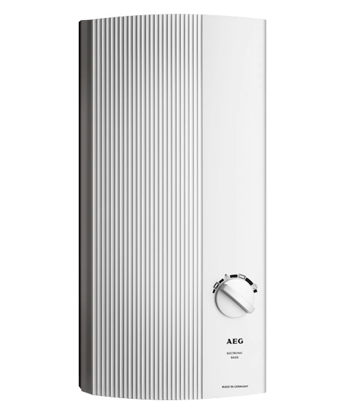 Водонагреватель AegВодонагреватели накопительные<br>Тип нагрева: прямой,<br>Тип: вертикальный,<br>Температура: 30-60,<br>Макс. температура нагрева воды: 60,<br>Тип установки: настенный,<br>Размеры: 485х226х93<br>