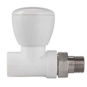 Клапан ValtecКомплектующие для радиаторов<br>Тип: клапан, Назначение: для подключения радиатора, Цвет покрытия: белый<br>