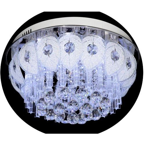 Люстра LamplandiaЛюстры<br>Назначение светильника: для комнаты,<br>Стиль светильника: модерн,<br>Тип: потолочная,<br>Материал светильника: металл, хрусталь,<br>Материал арматуры: металл,<br>Длина (мм): 480,<br>Ширина: 480,<br>Высота: 4800,<br>Количество ламп: 6,<br>Тип лампы: галогенная,<br>Мощность: 40,<br>Патрон: G9,<br>Пульт ДУ: есть,<br>Цвет арматуры: хром<br>