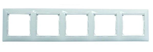 Рамка LegrandЭлектроустановочные изделия<br>Тип изделия: рамка,<br>Способ монтажа: скрытой установки,<br>Цвет: белый,<br>Степень защиты от пыли и влаги: IP 20<br>