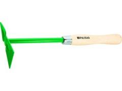 Мотыга PalisadМотыги и тяпки<br>Тип инструмента: мотыга,<br>Рабочая ширина: 60,<br>Длина ручки: 35,<br>Материал черенка: дерево<br>