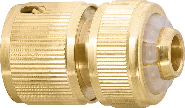 Соединитель PalisadСоединительные элементы и фильтры<br>Тип элемента: коннектор, Диаметр на выходе (в дюймах): 1/2, Материал: латунь<br>