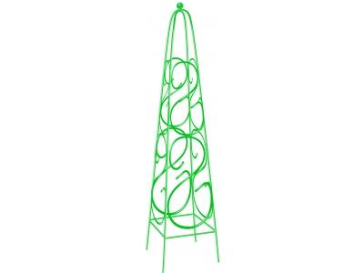 Пирамида PalisadПоддержки для уличных растений<br>Тип: пирамида,<br>Размеры: 1125х230,<br>Материал: металл,<br>Количество в наборе: 1<br>