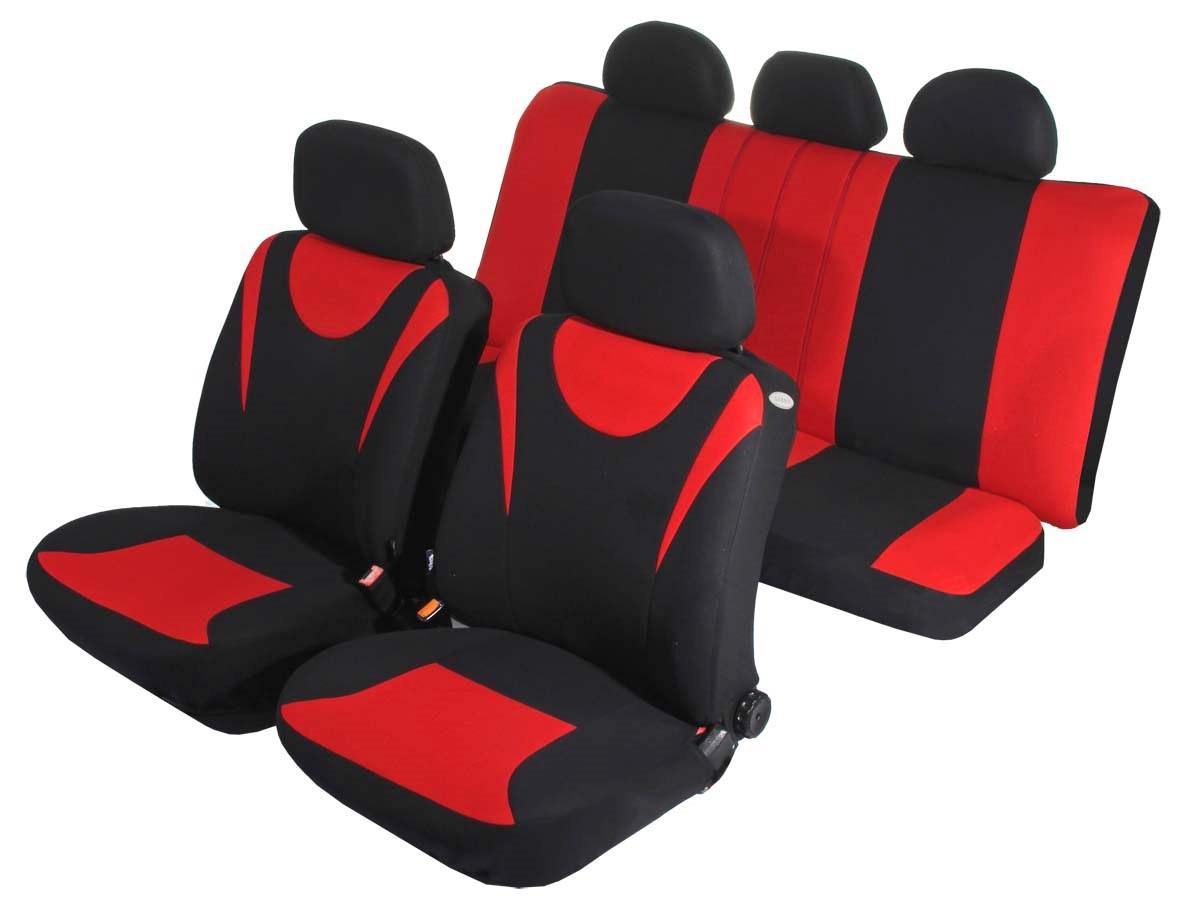 Чехол на сиденье AzardЧехлы на сиденья<br>Тип: чехол,<br>Материал: полиэстер,<br>Цвет: красный<br>