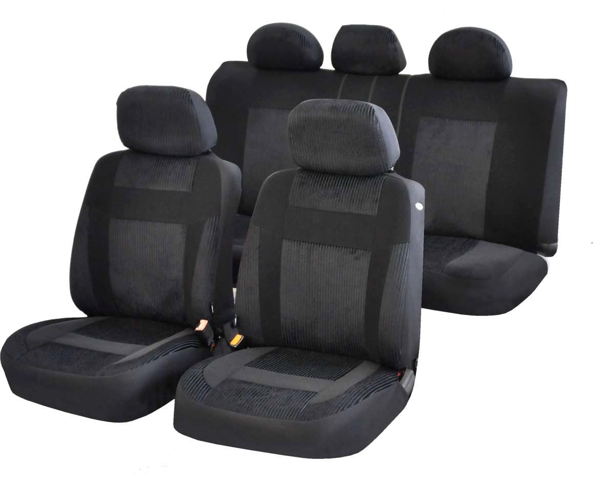 Чехол на сиденье AzardЧехлы на сиденья<br>Тип: чехол, Материал: велюр, Цвет: черный<br>