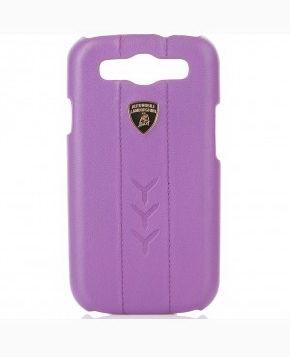 Клип-кейс LamborghiniЧехлы для телефонов<br>Марка телефона: Samsung Galaxy S3,<br>Тип: клип-кейс,<br>Цвет: фиолетовый,<br>Материал: кожа,<br>Вес нетто: 0.1<br>