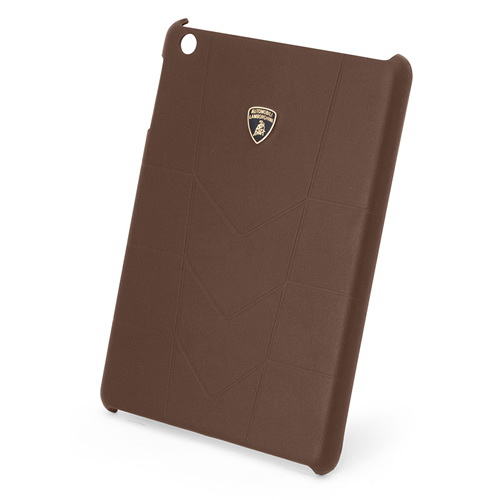 Чехол-крышка LamborghiniЧехлы для планшетов<br>Марка планшета: iPad mini,<br>Тип: чехол,<br>Цвет: коричневый,<br>Материал: кожа,<br>Вес нетто: 0.2<br>