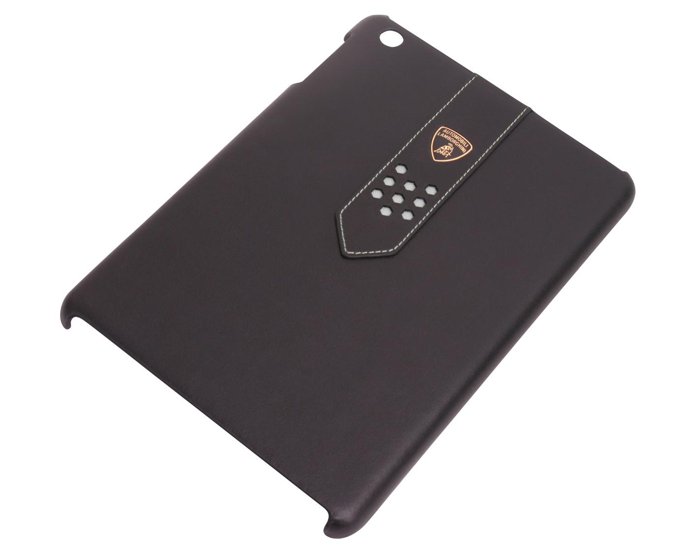 Чехол-крышка LamborghiniЧехлы для телефонов<br>Марка телефона: iPad mini,<br>Тип: чехол,<br>Цвет: черный/белый,<br>Материал: кожа,<br>Вес нетто: 0.2<br>