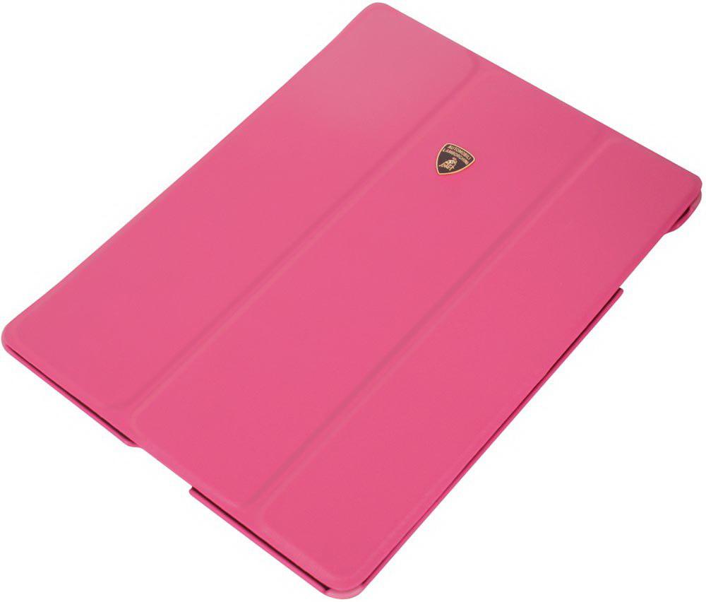 Чехол LamborghiniЧехлы для планшетов<br>Марка планшета: iPad mini,<br>Тип: чехол,<br>Цвет: розовый,<br>Материал: кожа,<br>Вес нетто: 0.2<br>