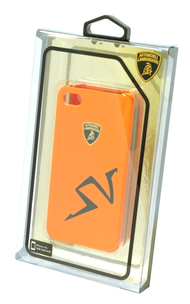 Чехол LamborghiniЧехлы для телефонов<br>Марка телефона: iPhone 4/4s,<br>Тип: чехол,<br>Цвет: красный,<br>Материал: пластик<br>