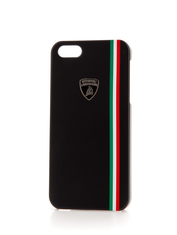 Чехол LamborghiniЧехлы для телефонов<br>Марка телефона: iPhone 5/5s,<br>Тип: чехол,<br>Цвет: черный,<br>Материал: пластик,<br>Вес нетто: 0.1<br>