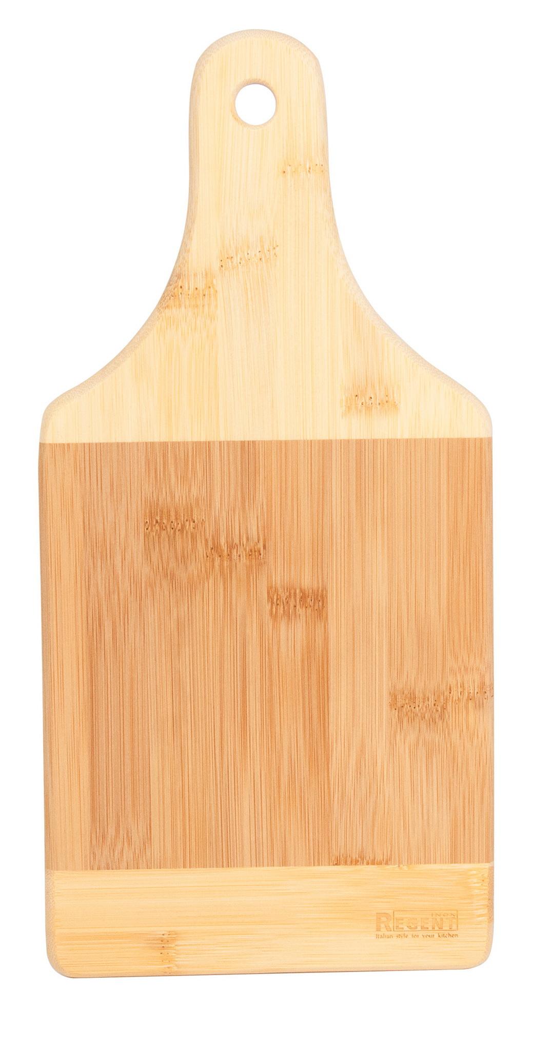 Доска разделочная Regent inoxДоски разделочные<br>Назначение: универсальная,<br>Материал: бамбук,<br>Длина (мм): 330,<br>Ширина: 160,<br>Толщина доски: 15<br>