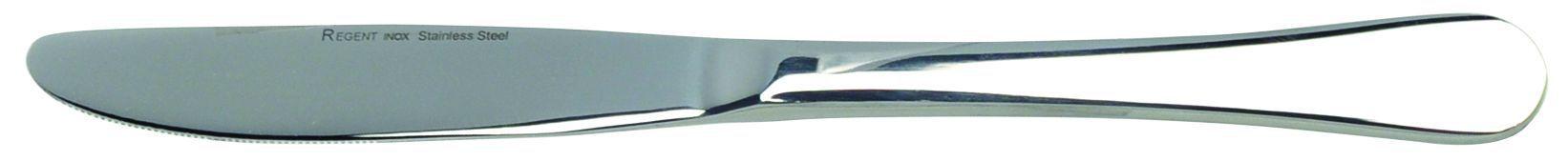 Нож столовый Regent inoxСтоловые приборы<br>Тип: нож,<br>Материал: сталь,<br>Предметов в наборе: 1<br>