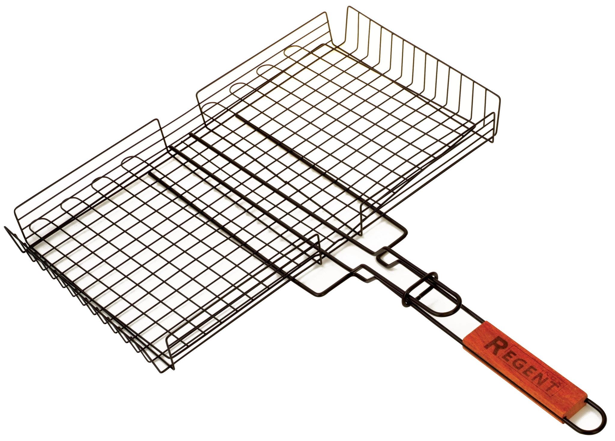 Решётка для гриля Regent inoxАксессуары для грилей<br>Тип: решетка для гриля,<br>Размеры: 450x250<br>