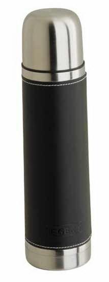 Термос Regent inoxТермосы и термокружки<br>Тип термопосуды: термос,<br>Объем: 0.69999999999999,<br>Размер горловины: узкое горло,<br>Цвет: черный, хром<br>