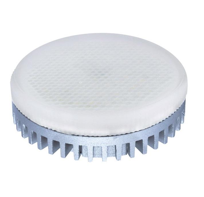 Лампа светодиодная JazzwayЛампы<br>Тип лампы: светодиодная,<br>Форма лампы: рефлекторная,<br>Цвет колбы: матовая,<br>Тип цоколя: GX53,<br>Напряжение: 220,<br>Мощность: 12,<br>Цветовая температура: 3000,<br>Цвет свечения: нейтральный<br>