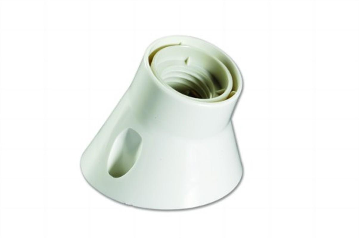 Патрон ElectralineАксессуары для электромонтажа<br>Тип аксессуара: патрон,<br>Степень защиты от пыли и влаги: IP 20,<br>Цвет: белый<br>
