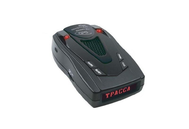 Радар-детектор (антирадар) WhistlerРадар-детекторы<br>Обнаружение радара «Стрелка»: есть, Поддержка Ultra-K: есть, Поддержка Ultra-X: есть, Режим «Город»: есть, Режим «Трасса»: есть, GPS-приемник: есть, Угол обзора лазерного детектора: 360°, Дисплей: текстовый, Голосовое оповещение: есть<br>