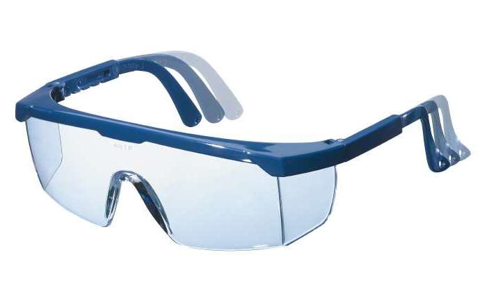 Очки защитные KwbЗащитные очки<br>Тип очков: открытые,<br>Цвет: синий,<br>Материал: пластик<br>