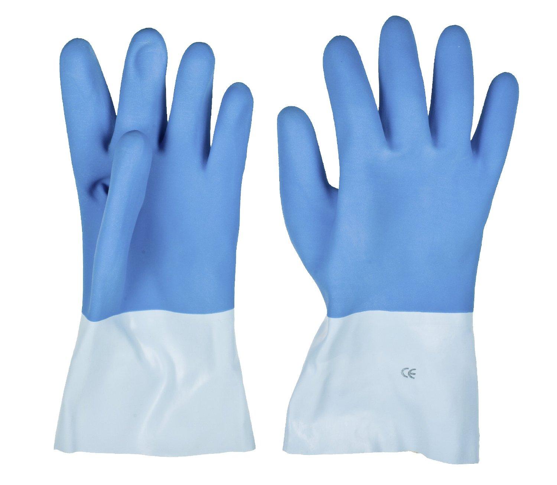 Перчатки латексные KwbПерчатки и рукавицы<br>Тип: перчатки,<br>Тип перчаток: латексные,<br>Пол: унисекс,<br>Размер: l<br>