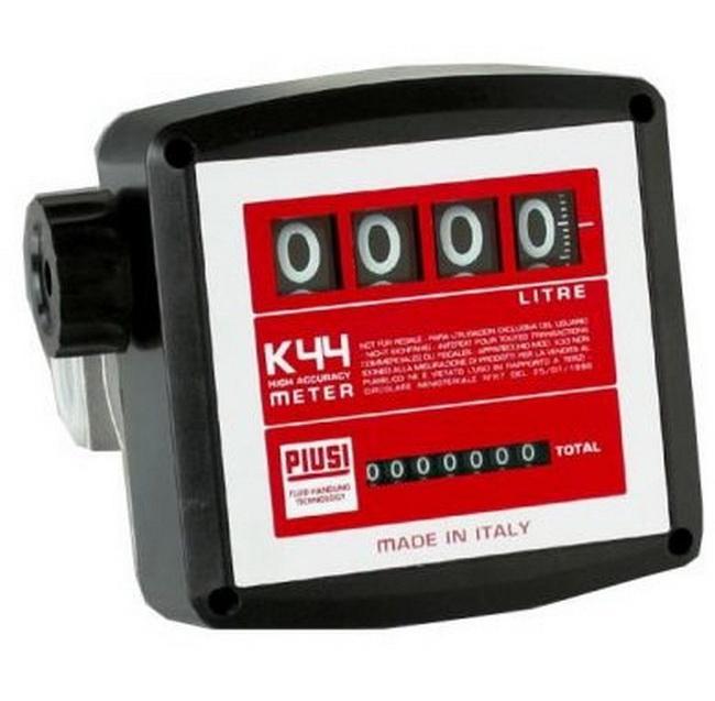 Счетчик PiusiСчетчики литров<br>Тип: счетчик,<br>Потеря нагрузки: 586,<br>Повторяемость: 0.2,<br>Фильтр: есть<br>