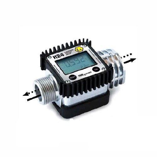 Расходомер PiusiСчетчики литров<br>Тип: расходомер,<br>Потеря нагрузки: 934,<br>Повторяемость: 0.3,<br>Дисплей: есть,<br>Материал корпуса: алюминий,<br>Тип импульсного сигнала: одноканальный,<br>Тип установки: в линию,<br>Возможность обнуления: есть<br>
