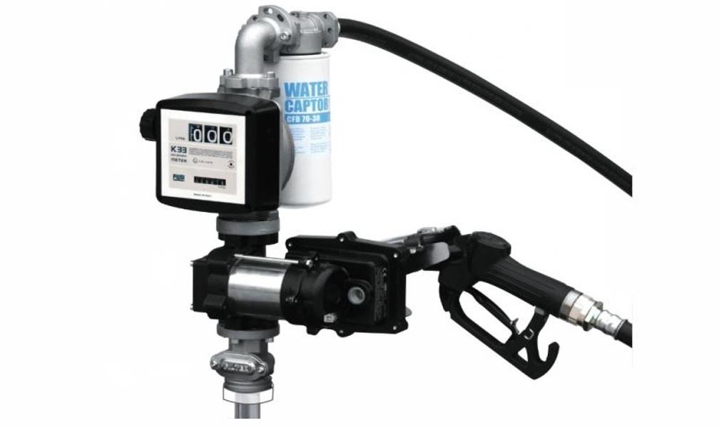 Насос PiusiНасосы для ГСМ<br>Тип жидкости: бензин,<br>Напряжение: 230,<br>Объем бочки: 200<br>