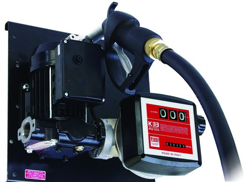 Перекачивающая станция PiusiРаспределители ГСМ<br>Тип жидкости: дизельное топливо, Тип: перекачивающая станция, Длина шланга: 4<br>
