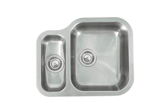 Мойка кухонная ReginoxМойки кухонные<br>Тип установки кухонной мойки: врезной,<br>Материал изготовления кухонной мойки: нержавеющая сталь,<br>Отверстие под смеситель: нет,<br>Форма кухонной мойки: квадратная,<br>Количество чаш кухонной мойки: две чаши,<br>Длина (мм): 342,<br>Ширина: 410,<br>Глубина: 190/130,<br>Цвет: хром,<br>Наличие крыла: есть,<br>Расположение крыла: слева,<br>Страна происхождения: Нидерланды,<br>Диаметр сливного отверстия: 3 1/2,<br>Вес нетто: 57<br>