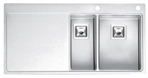Мойка кухонная Reginox Nevada 18x50 lux okg right (c/box) l B29T7LLU08RDS.2