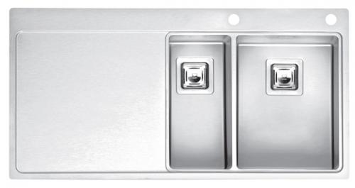Мойка кухонная Reginox Nevada 30x40 lux okg left(c/box) l B29T5LLU08LDS.2