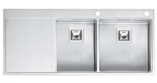 Мойка кухонная Reginox Nevada 30x40 lux okg right (c/box) l B29T5LLU08RDS.2