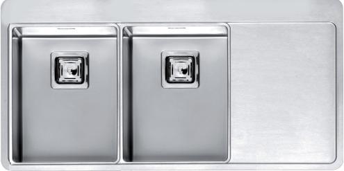 Мойка кухонная Reginox Nevada 40x30 lux okg left(c/box) l B29T4LLU08LDS.2