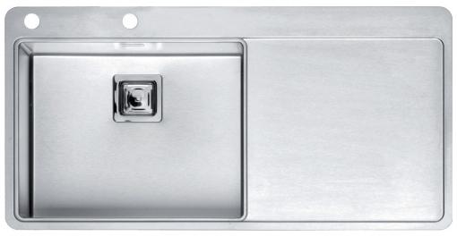 Мойка кухонная Reginox Nevada 50x18 lux okg left(c/box) l B29T6LLU08LDS.2