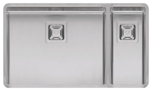 Мойка кухонная ReginoxМойки кухонные<br>Тип установки кухонной мойки: врезной,<br>Материал изготовления кухонной мойки: нержавеющая сталь,<br>Отверстие под смеситель: нет,<br>Форма кухонной мойки: прямоугольная,<br>Количество чаш кухонной мойки: две чаши,<br>Длина (мм): 183,<br>Ширина: 403,<br>Глубина: 145/200,<br>Цвет: хром,<br>Наличие крыла: есть,<br>Расположение крыла: справа,<br>Страна происхождения: Нидерланды,<br>Вес нетто: 8<br>