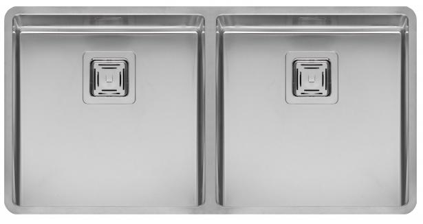 Мойка кухонная ReginoxМойки кухонные<br>Тип установки кухонной мойки: врезной, Материал изготовления кухонной мойки: нержавеющая сталь, Отверстие под смеситель: нет, Форма кухонной мойки: прямоугольная, Количество чаш кухонной мойки: две чаши, Длина (мм): 403, Ширина: 403, Глубина: 180/145, Цвет: хром, Наличие крыла: есть, Расположение крыла: слева, Страна происхождения: Нидерланды, Вес нетто: 55<br>