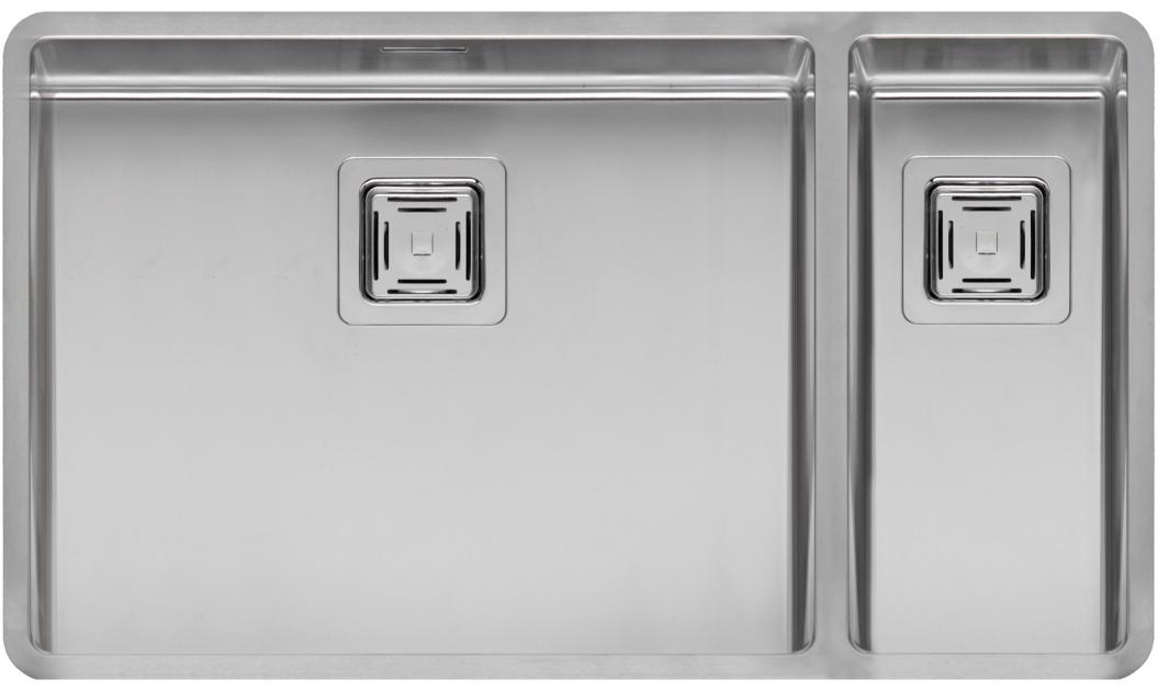 Мойка кухонная ReginoxМойки кухонные<br>Тип установки кухонной мойки: врезной,<br>Материал изготовления кухонной мойки: нержавеющая сталь,<br>Отверстие под смеситель: нет,<br>Форма кухонной мойки: прямоугольная,<br>Количество чаш кухонной мойки: две чаши,<br>Длина (мм): 503,<br>Ширина: 403,<br>Глубина: 200/145,<br>Цвет: хром,<br>Наличие крыла: есть,<br>Расположение крыла: слева/справа,<br>Страна происхождения: Нидерланды,<br>Вес нетто: 55<br>
