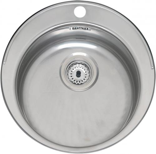 Мойка кухонная ReginoxМойки кухонные<br>Тип установки кухонной мойки: врезной,<br>Материал изготовления кухонной мойки: нержавеющая сталь,<br>Отверстие под смеситель: да,<br>Форма кухонной мойки: круглая,<br>Количество чаш кухонной мойки: одна чаша,<br>Ширина: 390,<br>Глубина: 180,<br>Цвет: хром,<br>Наличие крыла: есть,<br>Расположение крыла: слева/справа,<br>Страна происхождения: Нидерланды,<br>Диаметр сливного отверстия: 3 1/2,<br>Диаметр: 390,<br>Вес нетто: 2.5<br>