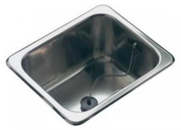 Мойка кухонная ReginoxМойки кухонные<br>Тип установки кухонной мойки: врезной, Материал изготовления кухонной мойки: нержавеющая сталь, Отверстие под смеситель: нет, Форма кухонной мойки: прямоугольная, Количество чаш кухонной мойки: одна чаша, Длина (мм): 296, Ширина: 236, Глубина: 150, Цвет: хром, Наличие крыла: есть, Расположение крыла: слева/справа, Страна происхождения: Нидерланды, Диаметр сливного отверстия: 1 1/2, Вес нетто: 1.3<br>