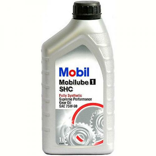 Mobilube 1 shc 75w-90 (кан1л) (синтетическое), Масло трансмиссионное