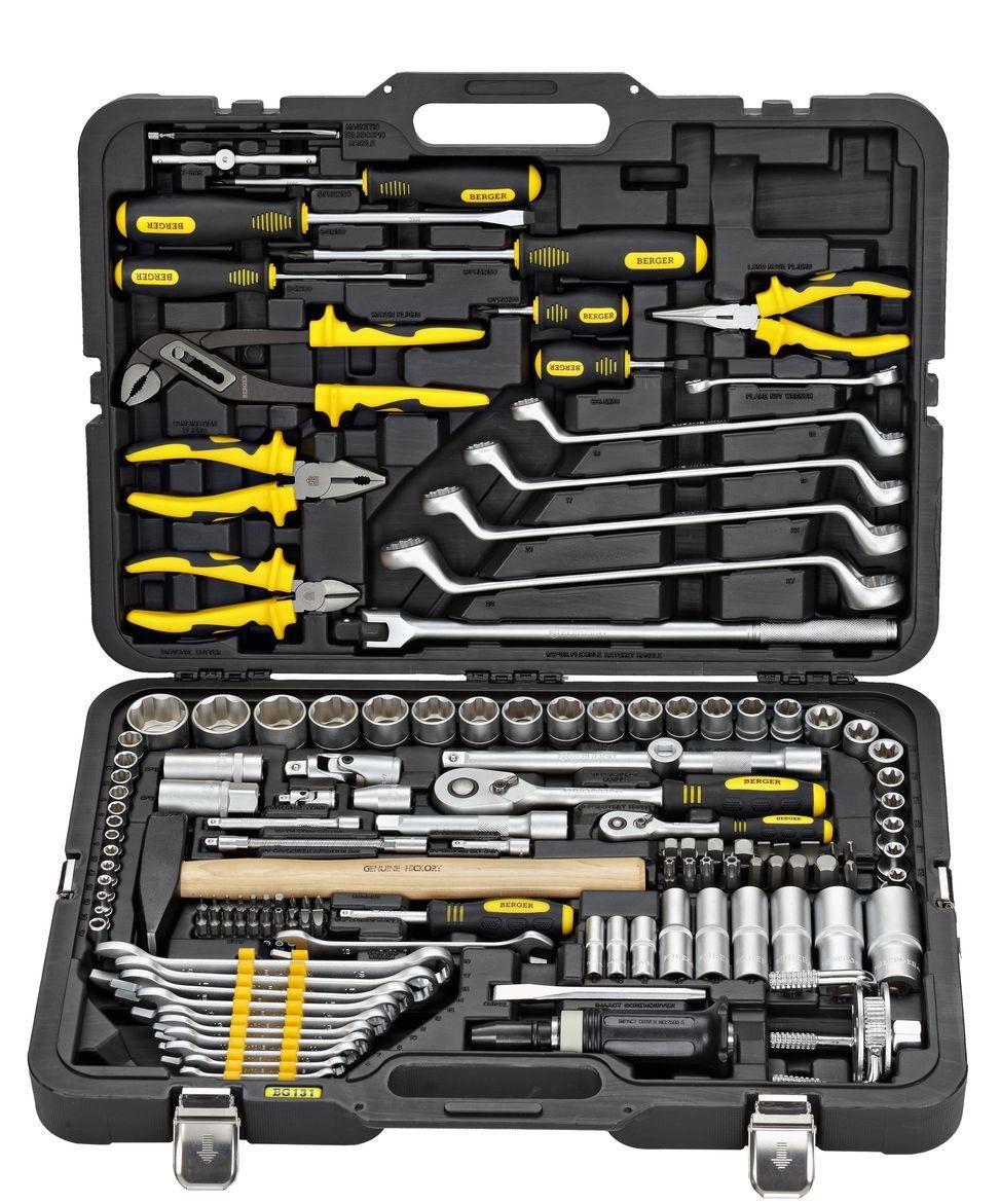 Универсальный набор инструментов Berger Bg131-1214