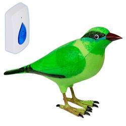Звонок TantosЗвонки<br>Тип: звонок,<br>Тип звонка: беспроводной,<br>Количество мелодий: 1,<br>Цвет: зеленый,<br>Источники питания: AAA,<br>Степень защиты от пыли и влаги: IP 20<br>